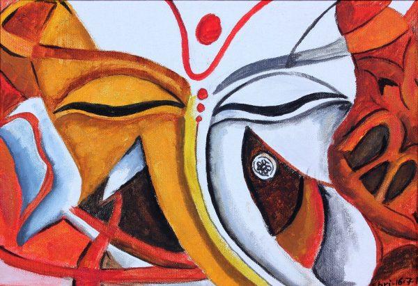 Shri Ganesh Abstract